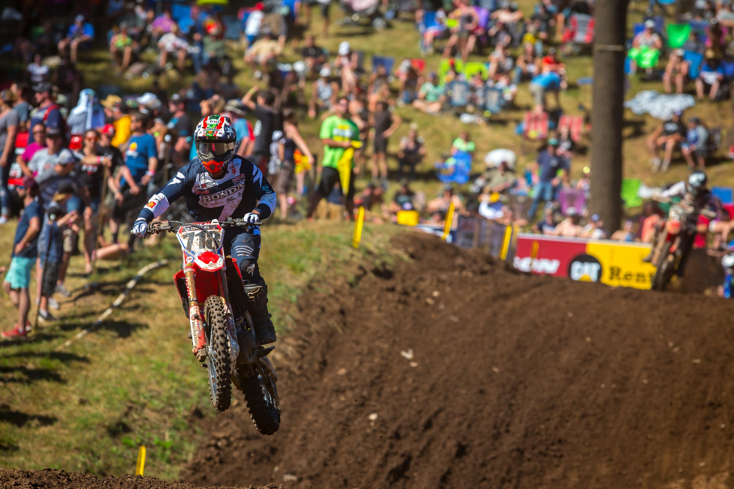 Tomita has seven top-20 moto finishes this summer.