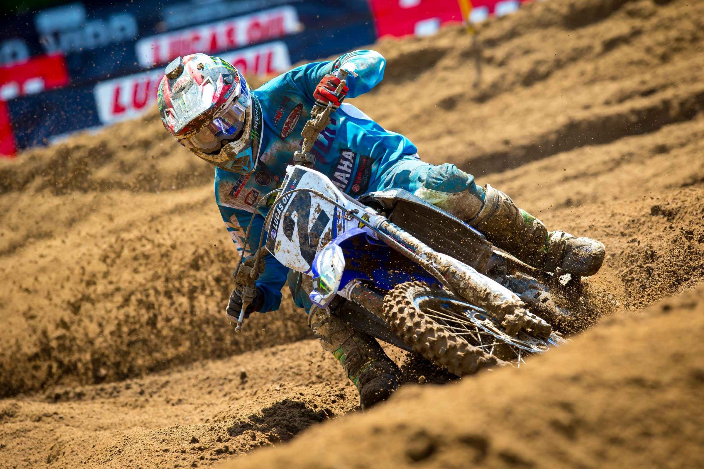 Webb was getting his summer back on track before he injured his knee, going 3-6-4-9 in his last four motos.