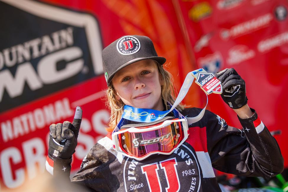 Ryder DiFrancesco raced his way to his first moto win of the 36th annual event.