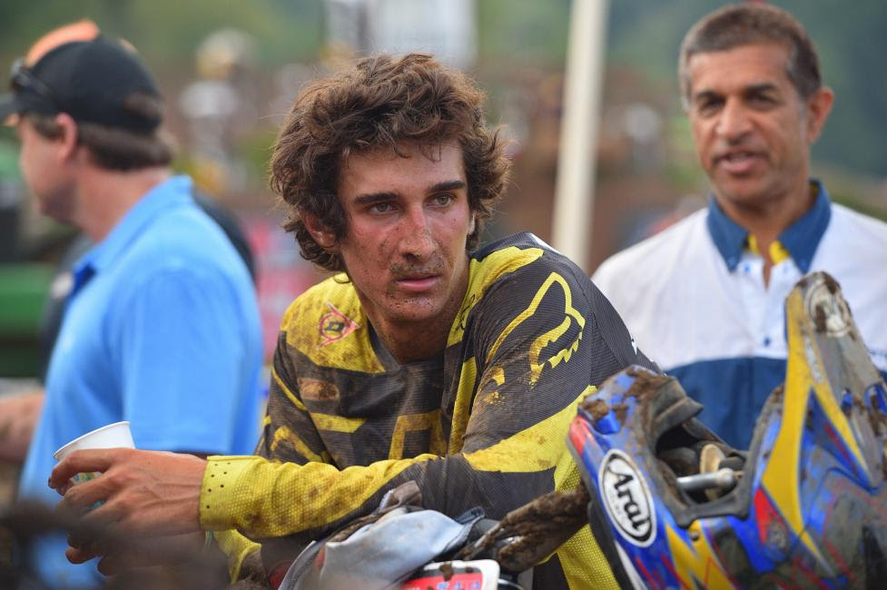 Marco Cannella had his best finish of the week in the 450 B class with second.