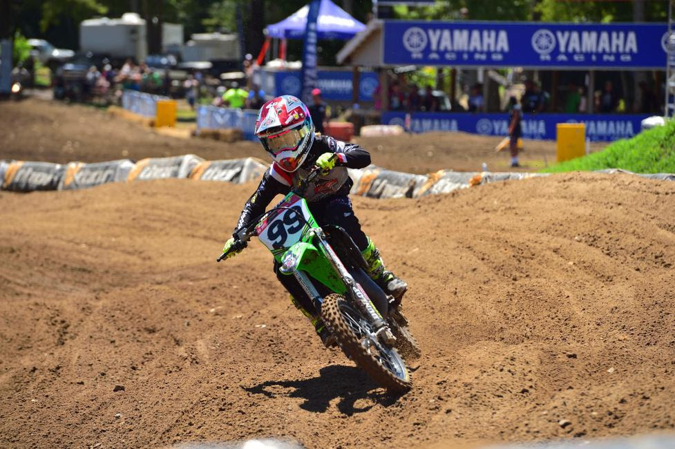 Ryder DiFrancesco won the 85 (9-11) Limited class and placed second overall in 85 (9-12).