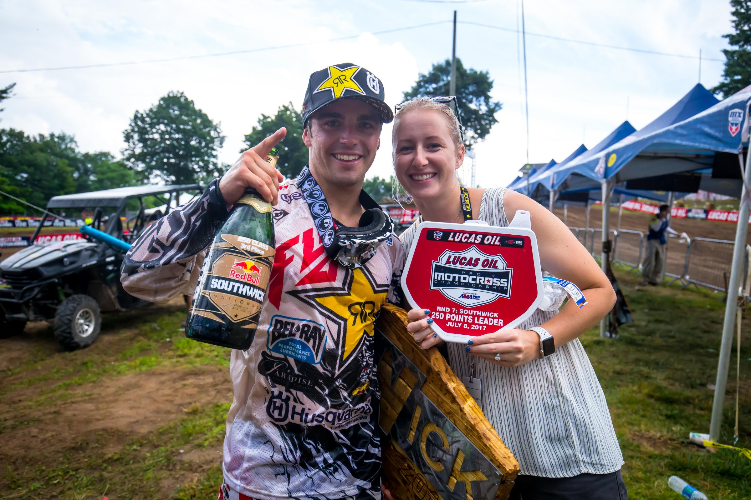 Osborne could potentially turn that points leader plate into a #1 plate this weekend at Unadilla.
