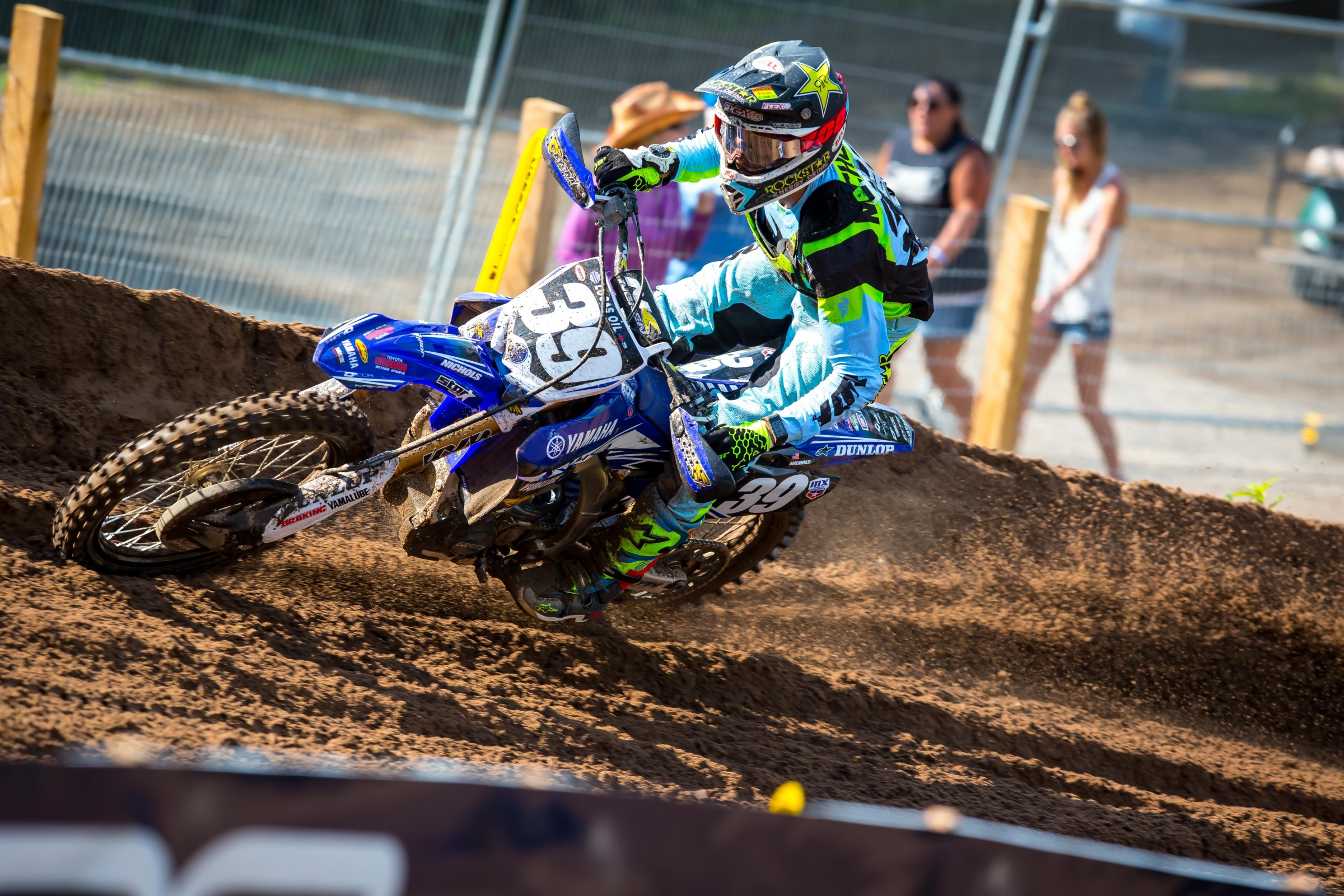 Nichols has scored points in all but one moto this summer.