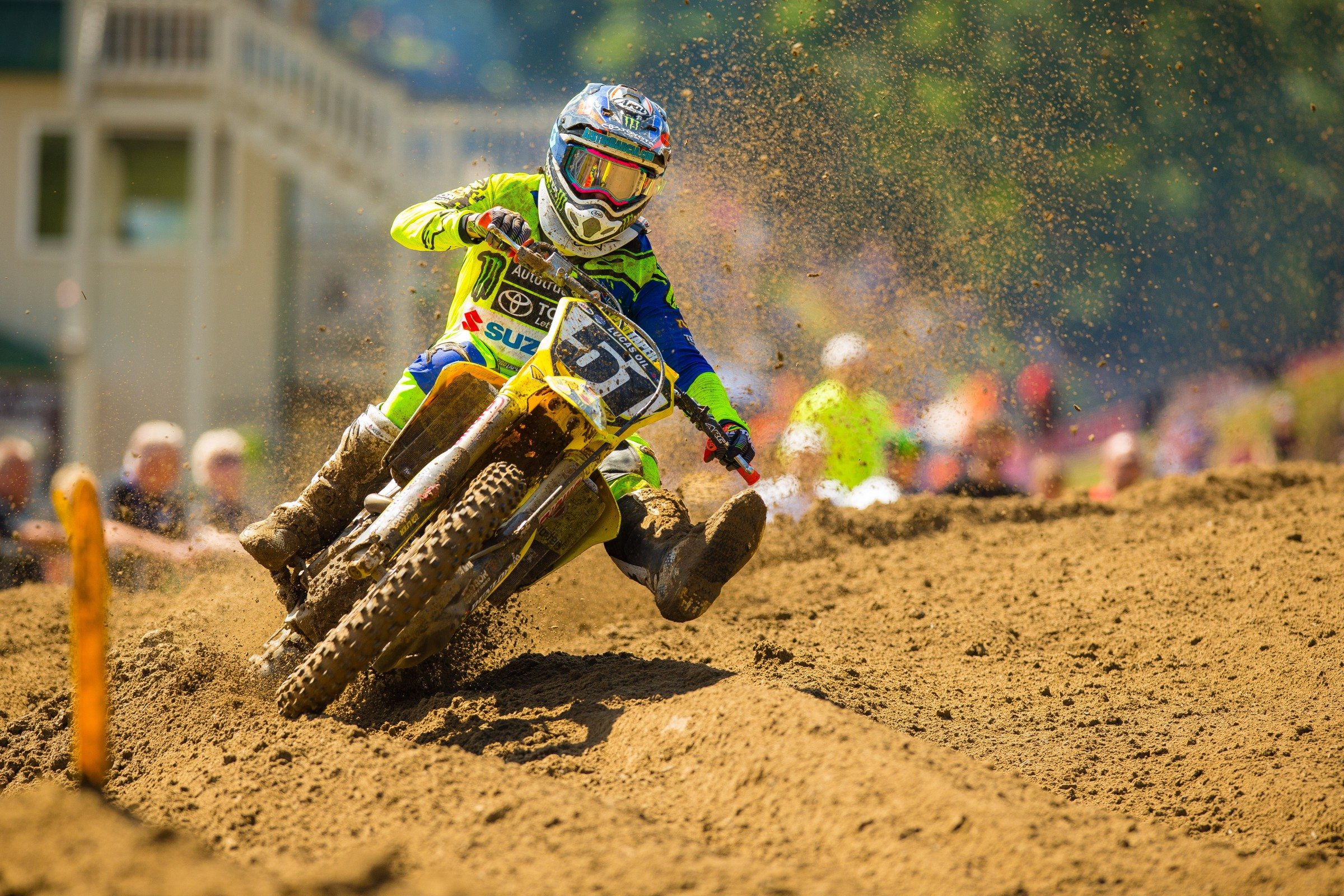 Barcia has three top five moto finishes this summer.