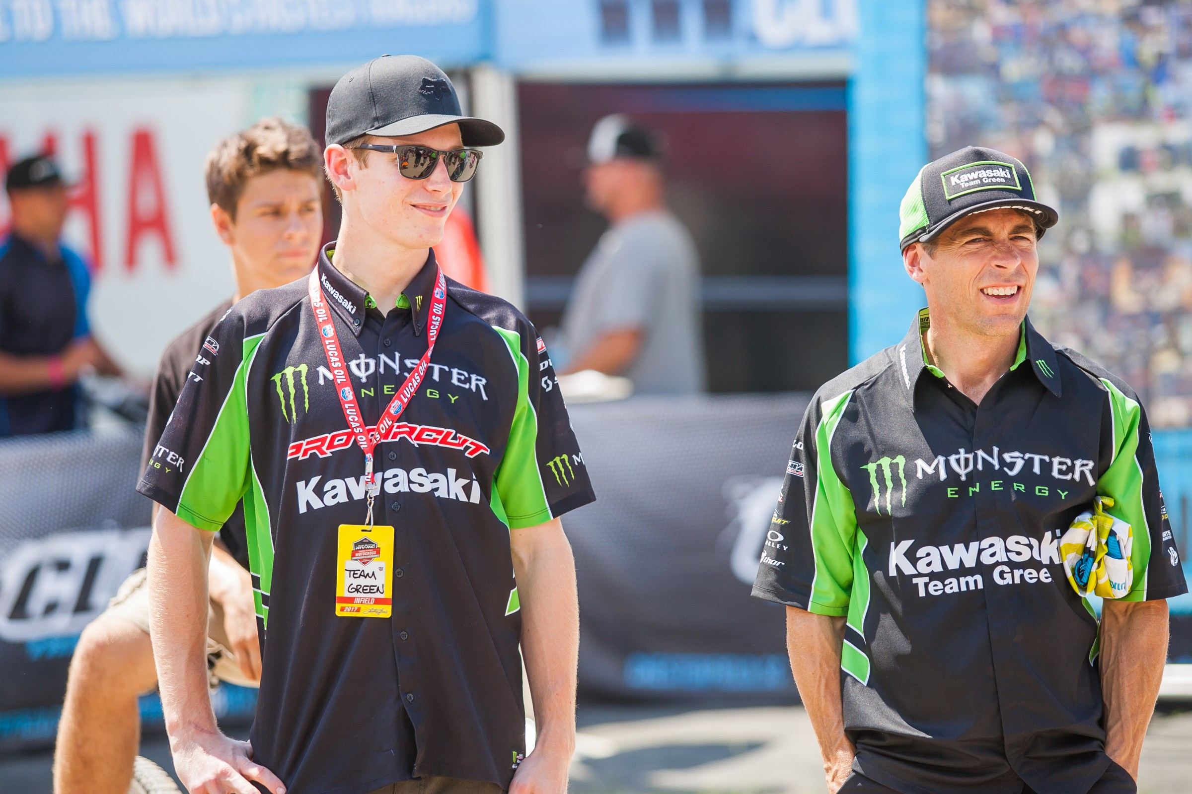 Cianciarulo also got some joy from watching two of his heroes get dunked for charity.