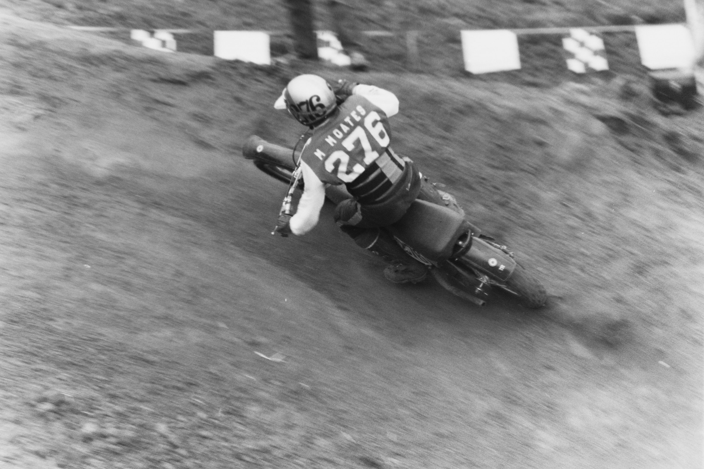 Check out this rare photo of a young Marty Moates in the 1974 250cc support class. Moates will certainly appear later in this countdown after a more memorable Carlsbad outing.