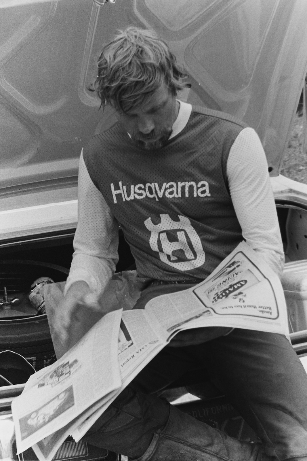 Mikkola checks out the latest Cycle News.