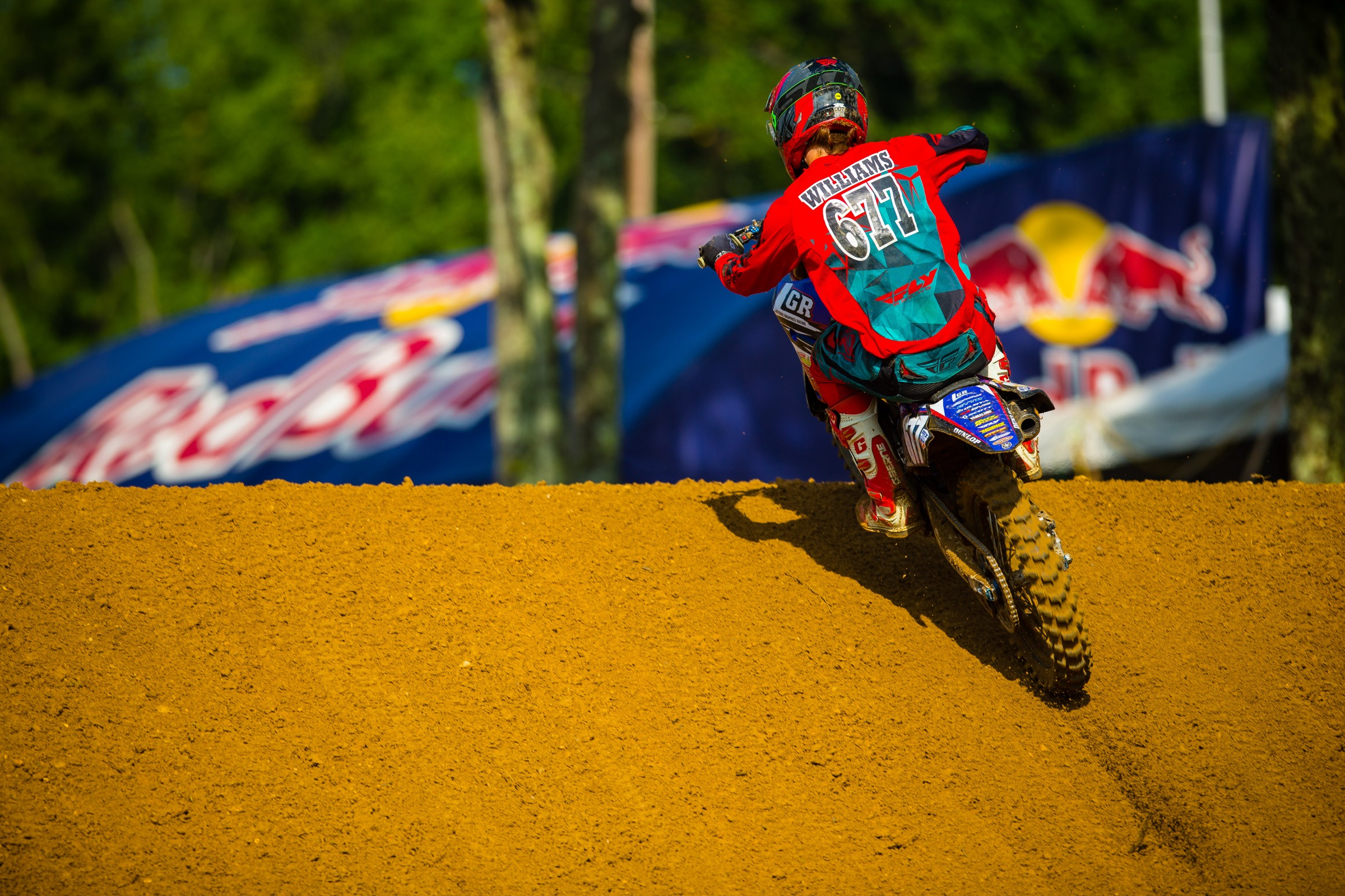 Williams has eight moto finishes inside the top 20 this year.