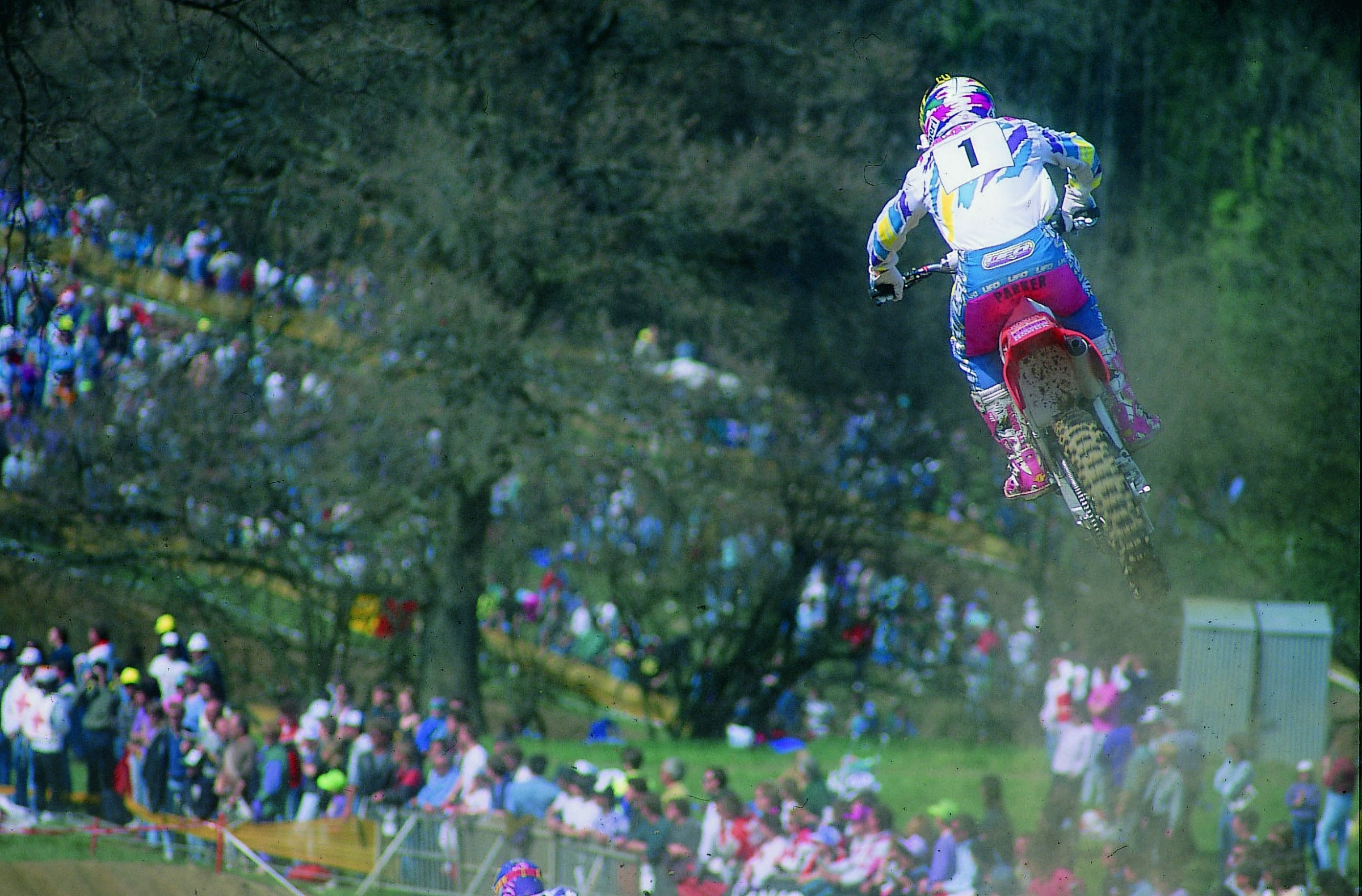 Trampas Parker was one of the only Americans racing in the World Championship before the wave of 1992.