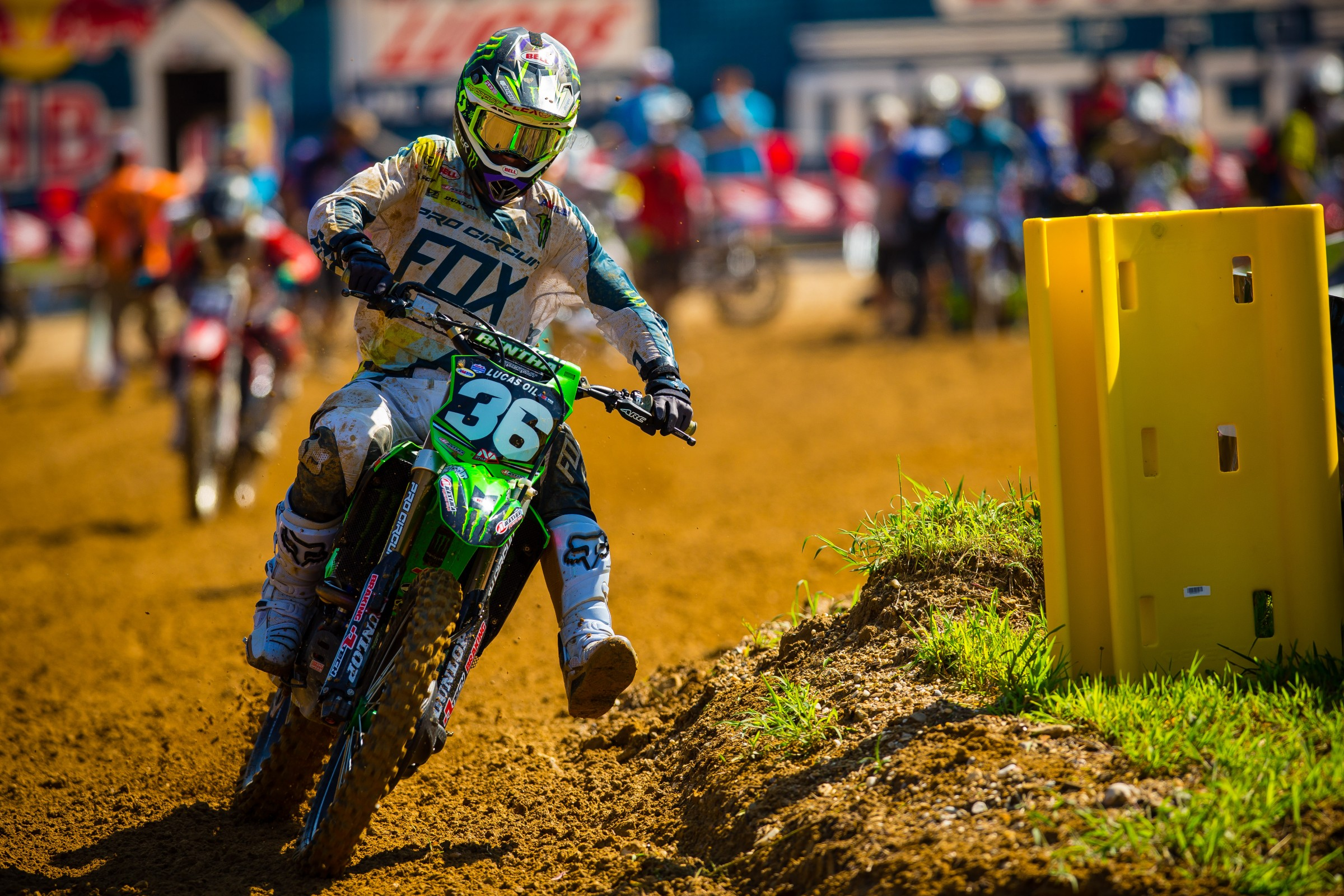 AC is in a good position to finish in third place in the 250 Class standings. It would be the best finish to a Lucas Oil Pro Motocross Championship of his career.