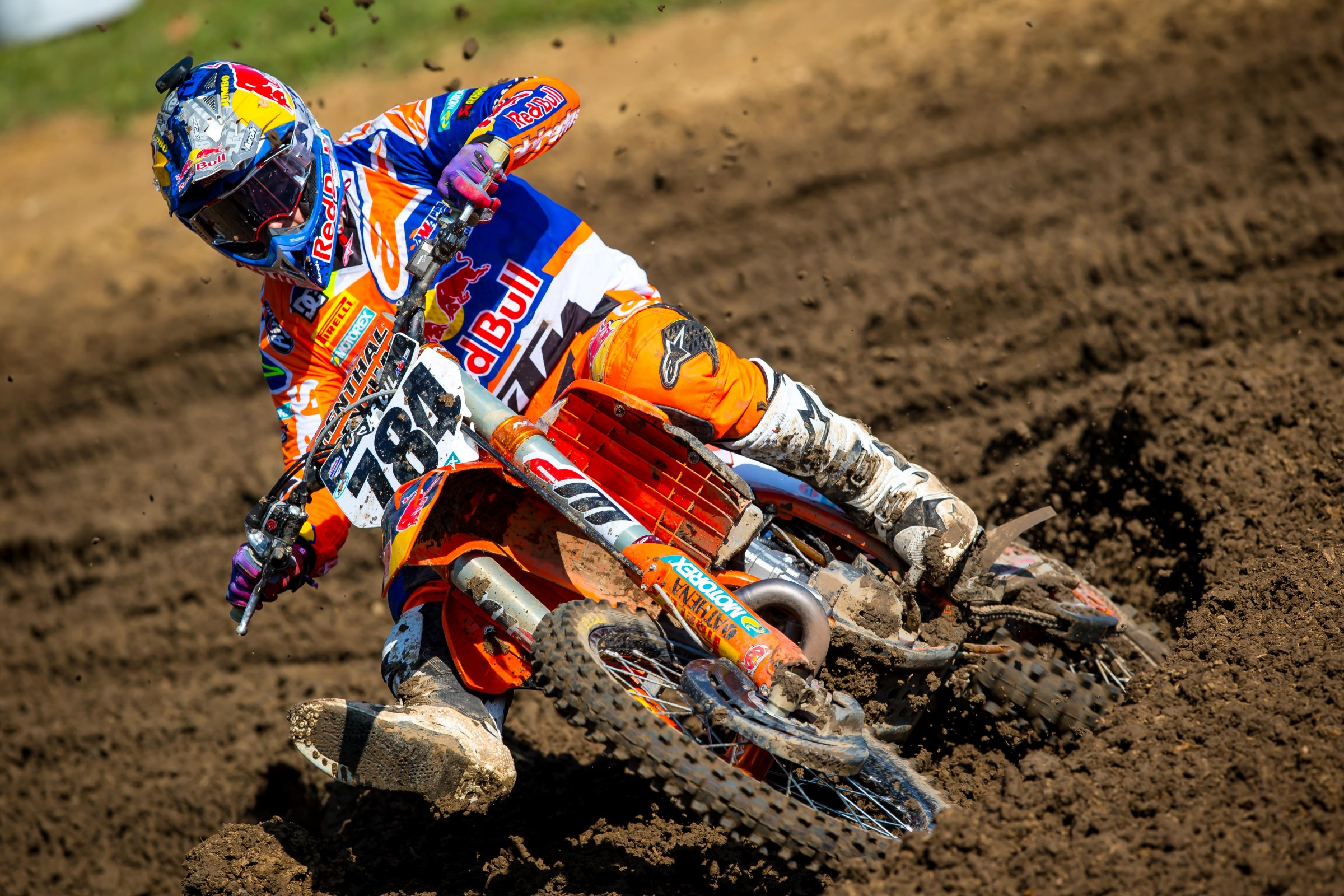 Herlings went 1-1 in his first-ever Lucas Oil Pro Motocross National.