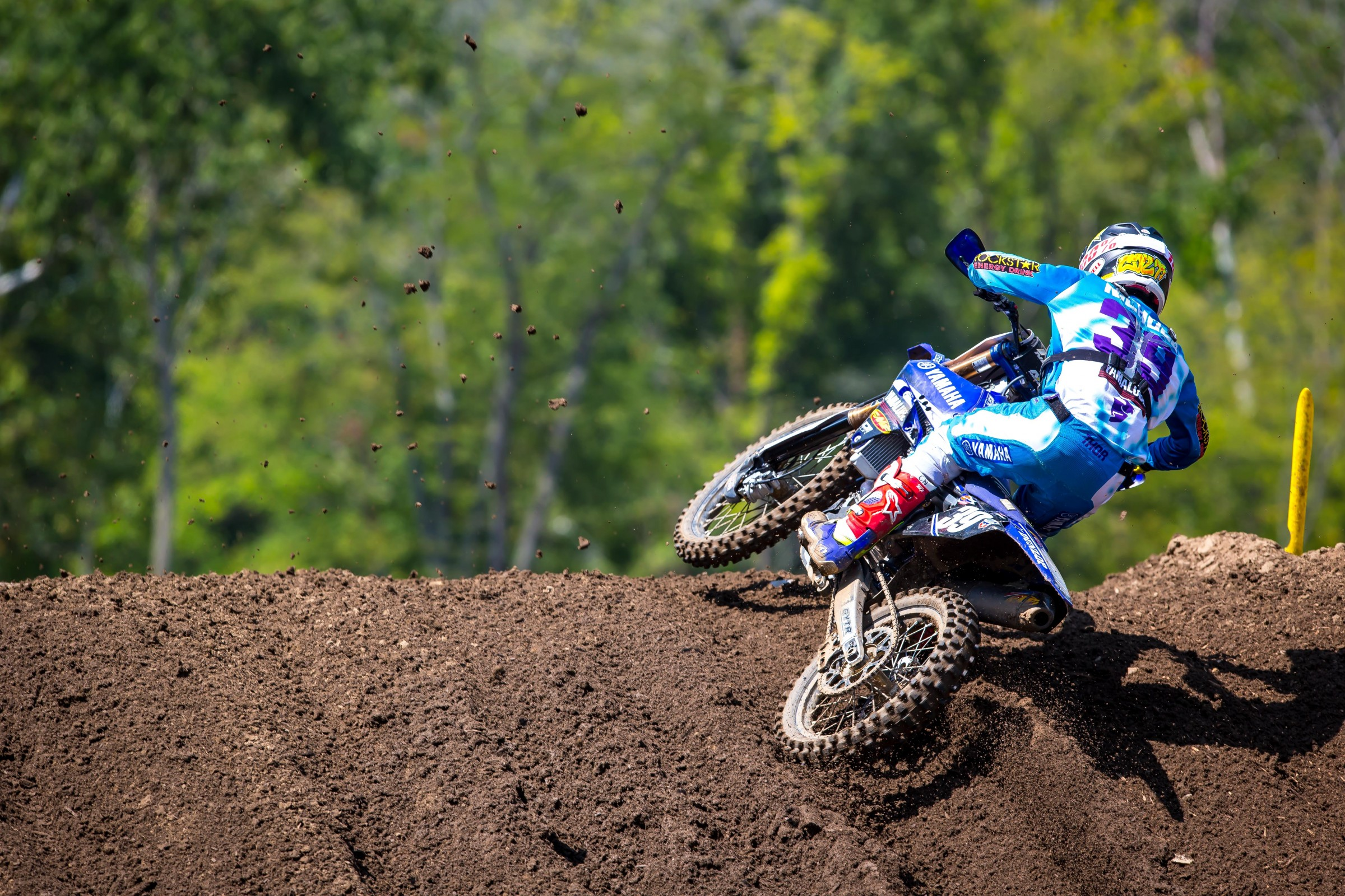 Nichols earned his best career finish at a round of Lucas Oil Pro Motocross with 3-4 scores being good enough for third overall.