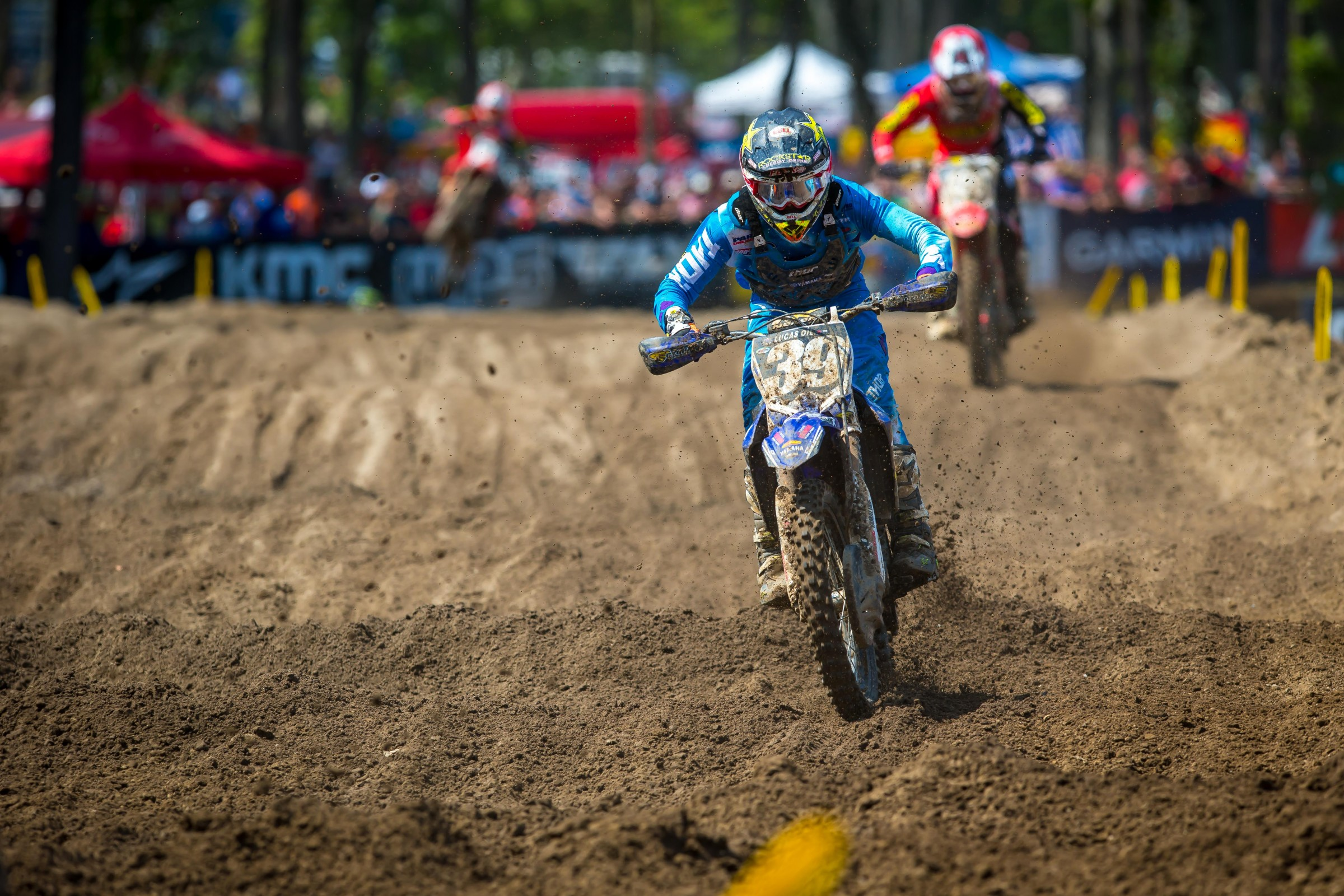 Nichols captured his first Lucas Oil Pro Motocross overall podium with 3-4 moto scores.
