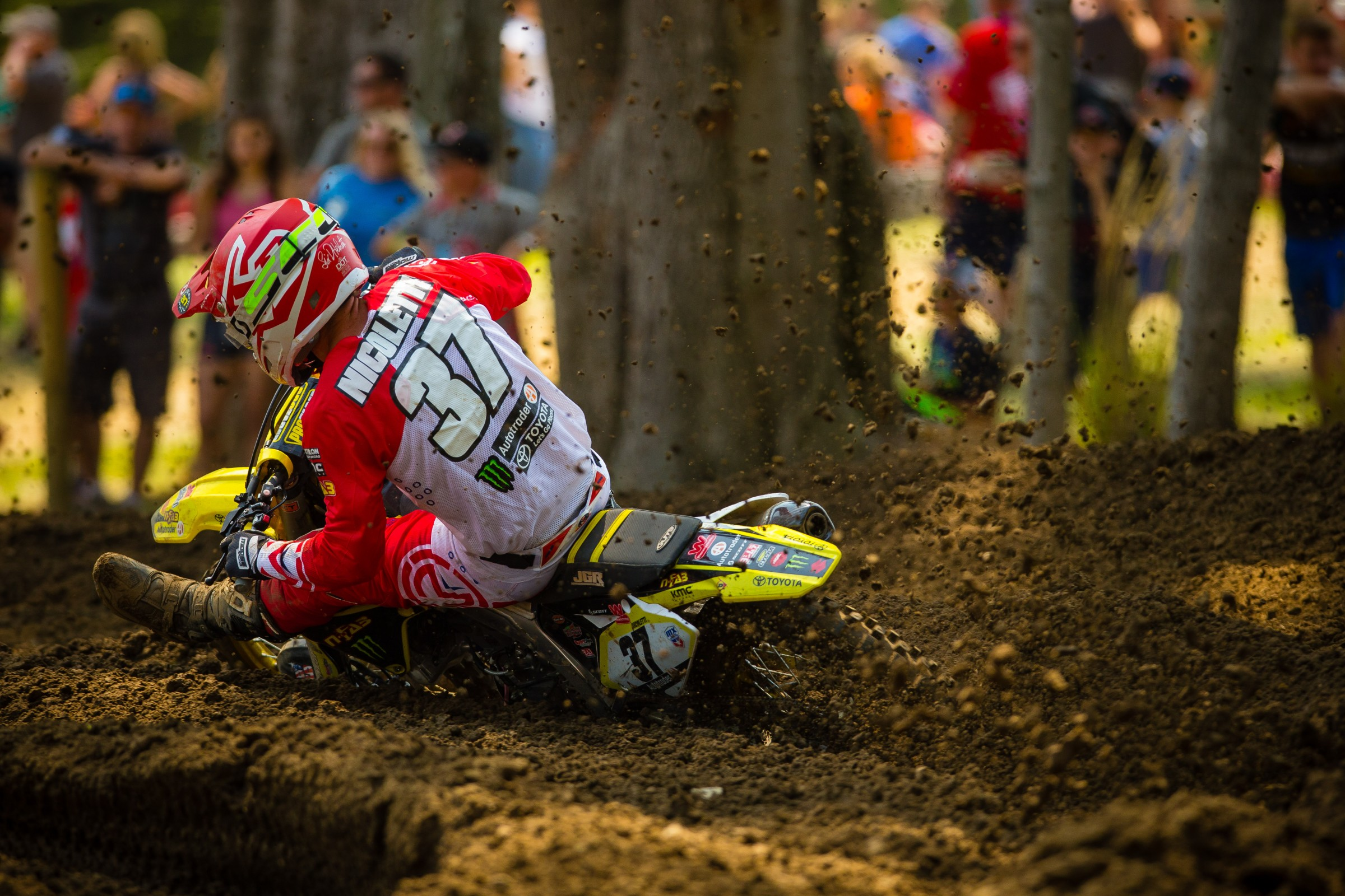Since returning from injury at Unadilla, Nicoletti went 12-18-14-12-14-38.