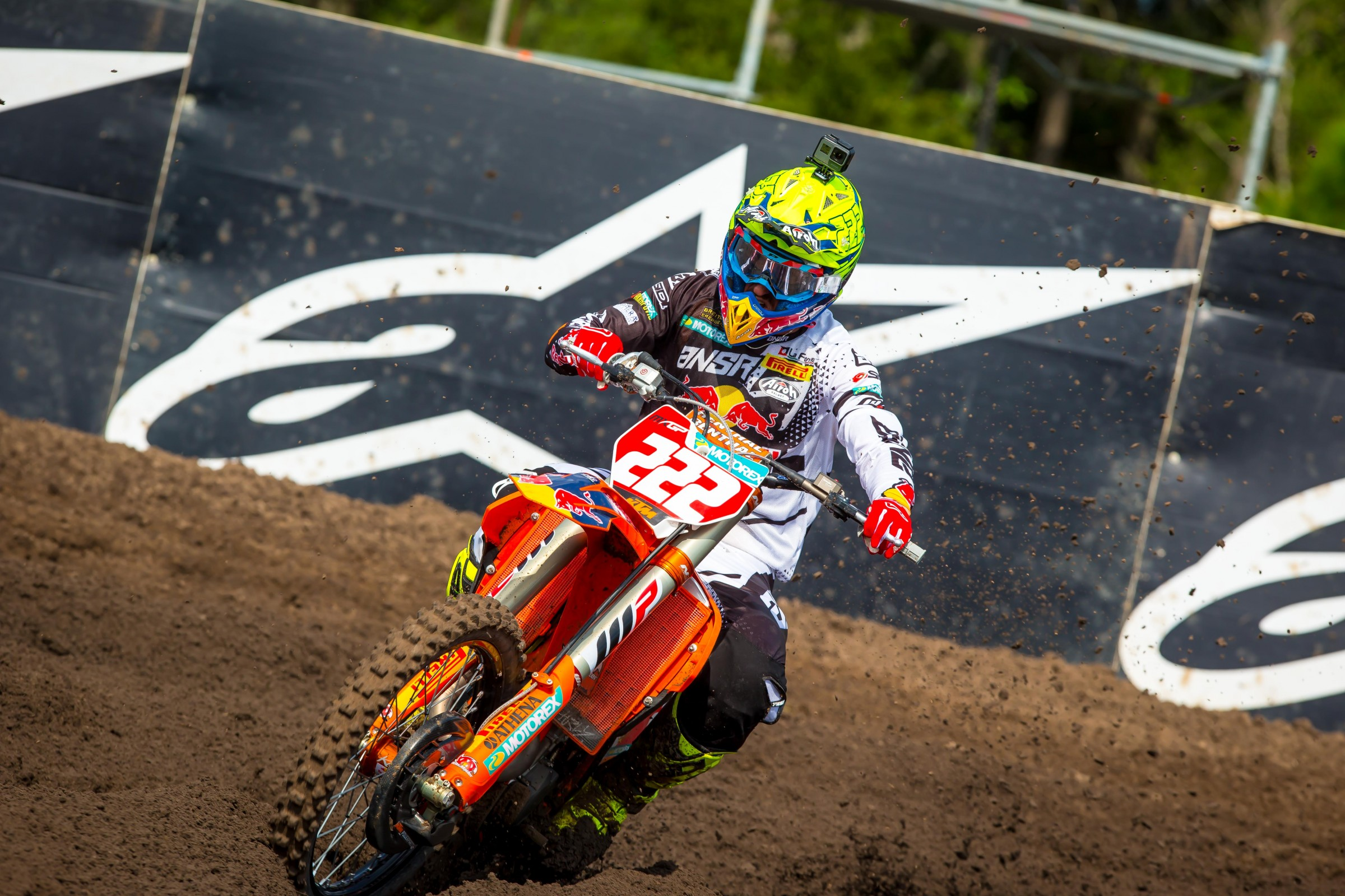 Antonio Cairoli finished third overall in MXGP.