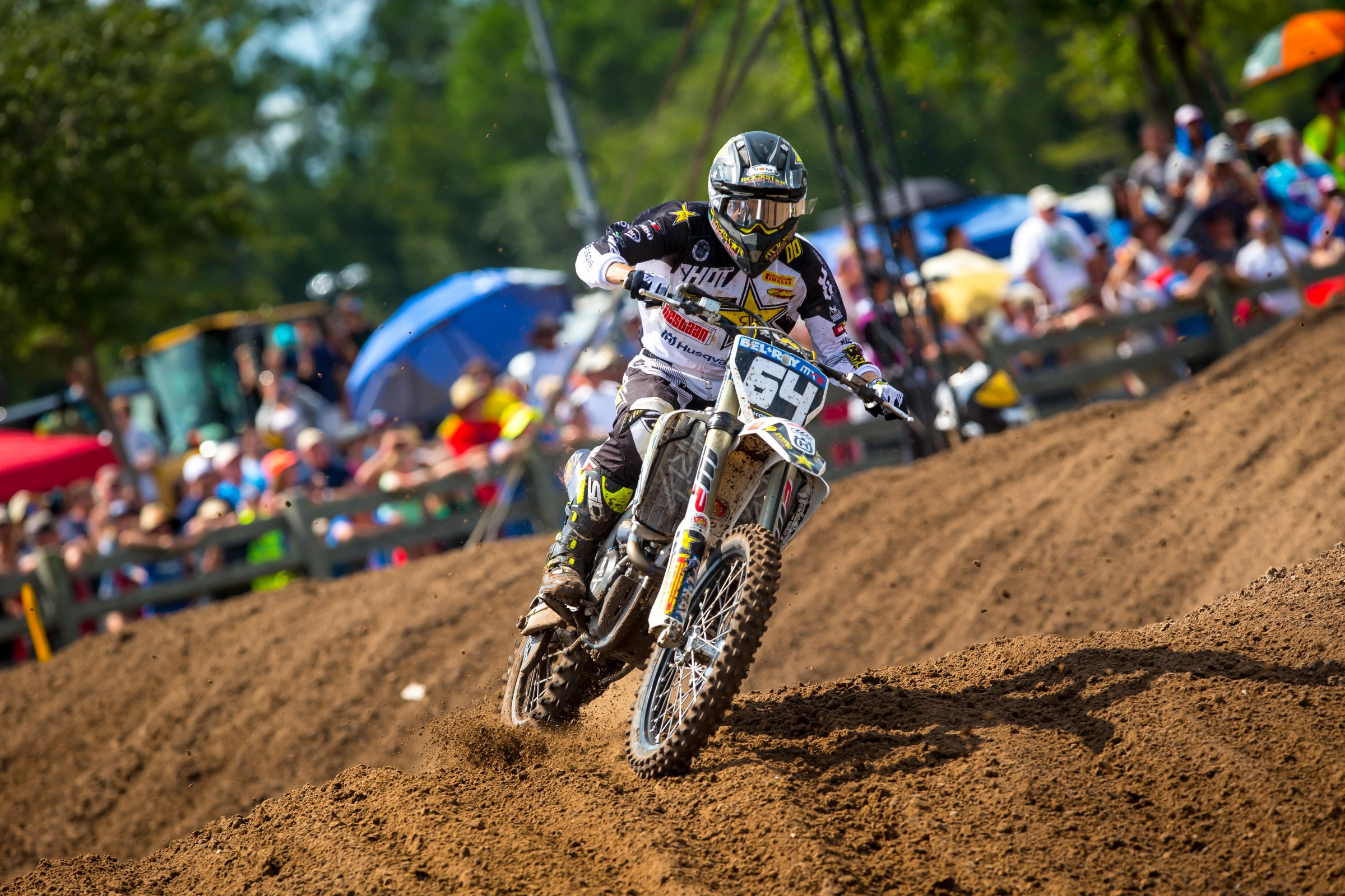 Thomas Covington finished third overall in MX2.