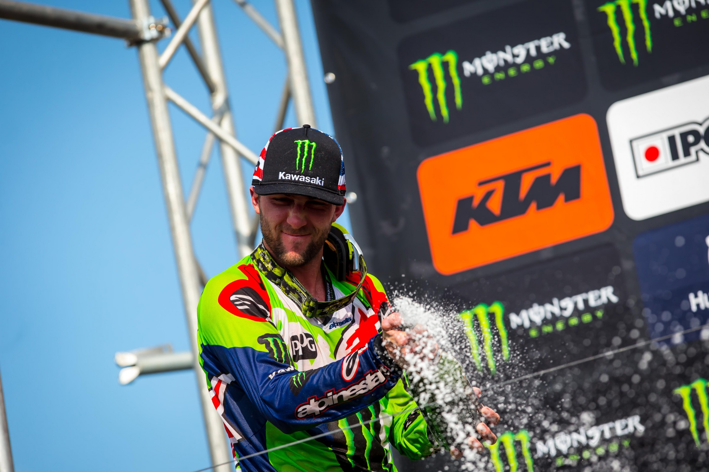 Tomac finished second overall on the day behind Jeffrey Herlings.