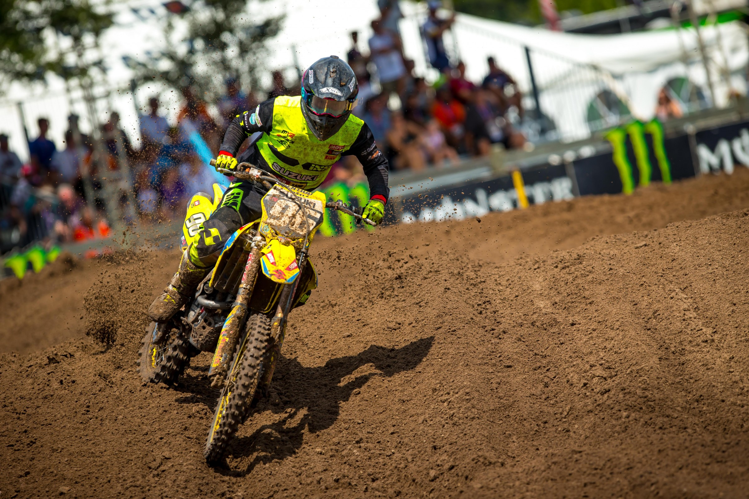 Lawrence turned a lot of heads with his second moto performance.