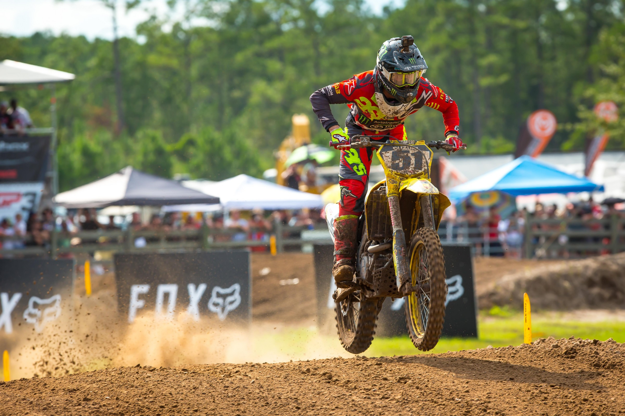 Barcia went 13-15 for 14th overall at the MXGP of USA.