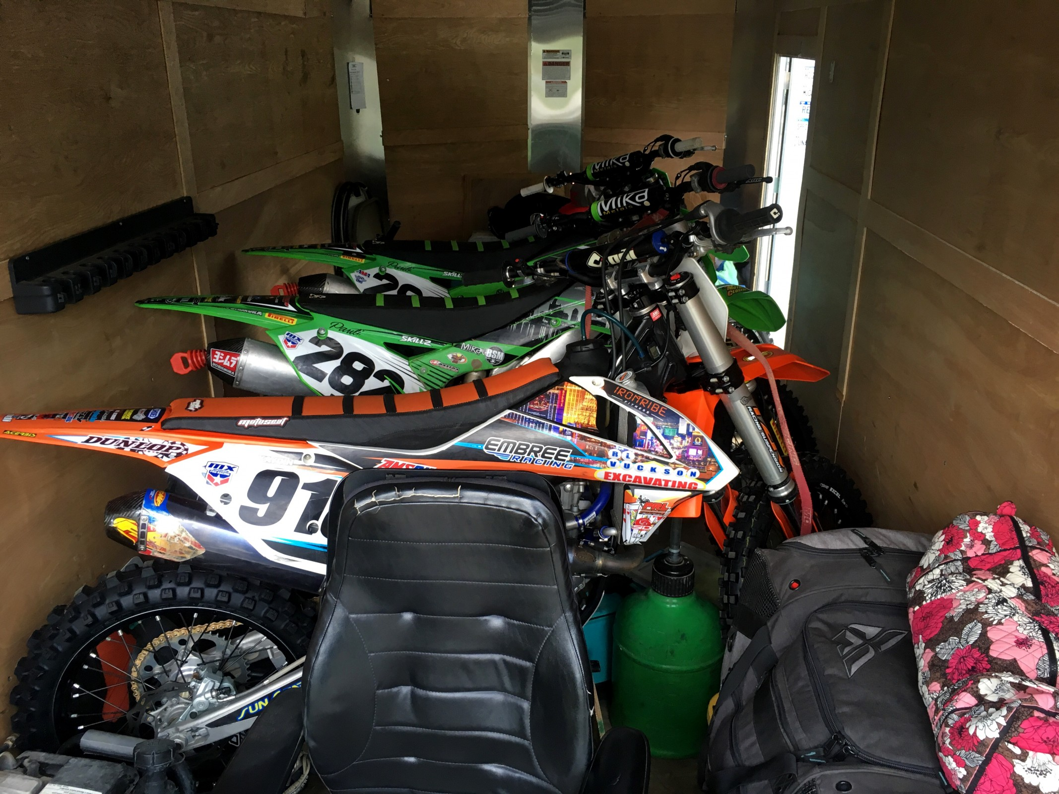 A typical privateer setup.