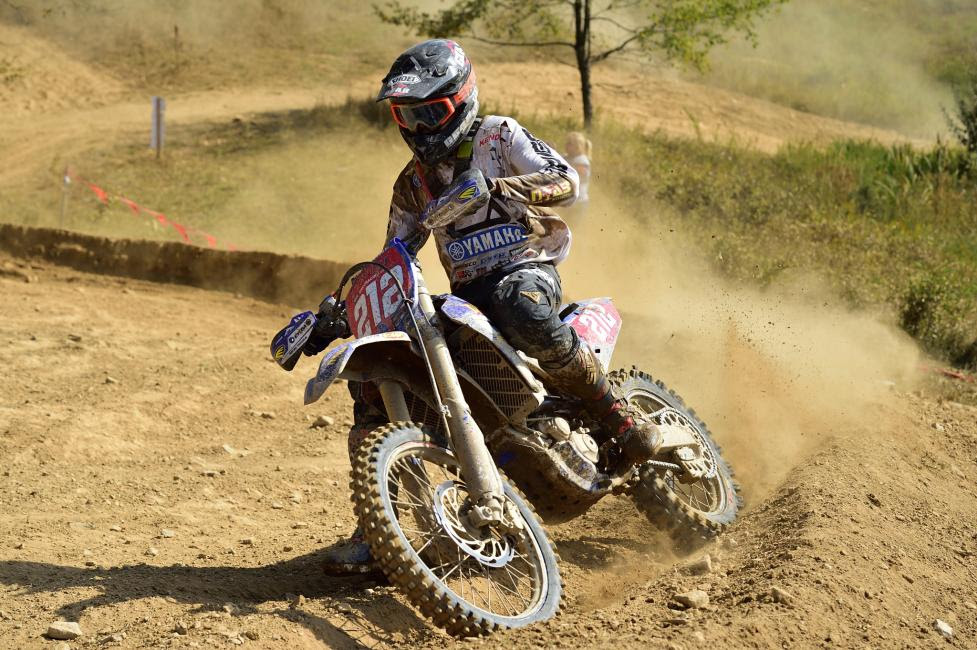 Ricky Russell earned the $250 All Balls Racing Holeshot Award in addition to finishing third overall.
