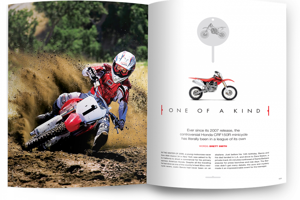The controversial honda crf150r racer x online in the mag on the web one of a kind thecheapjerseys Choice Image