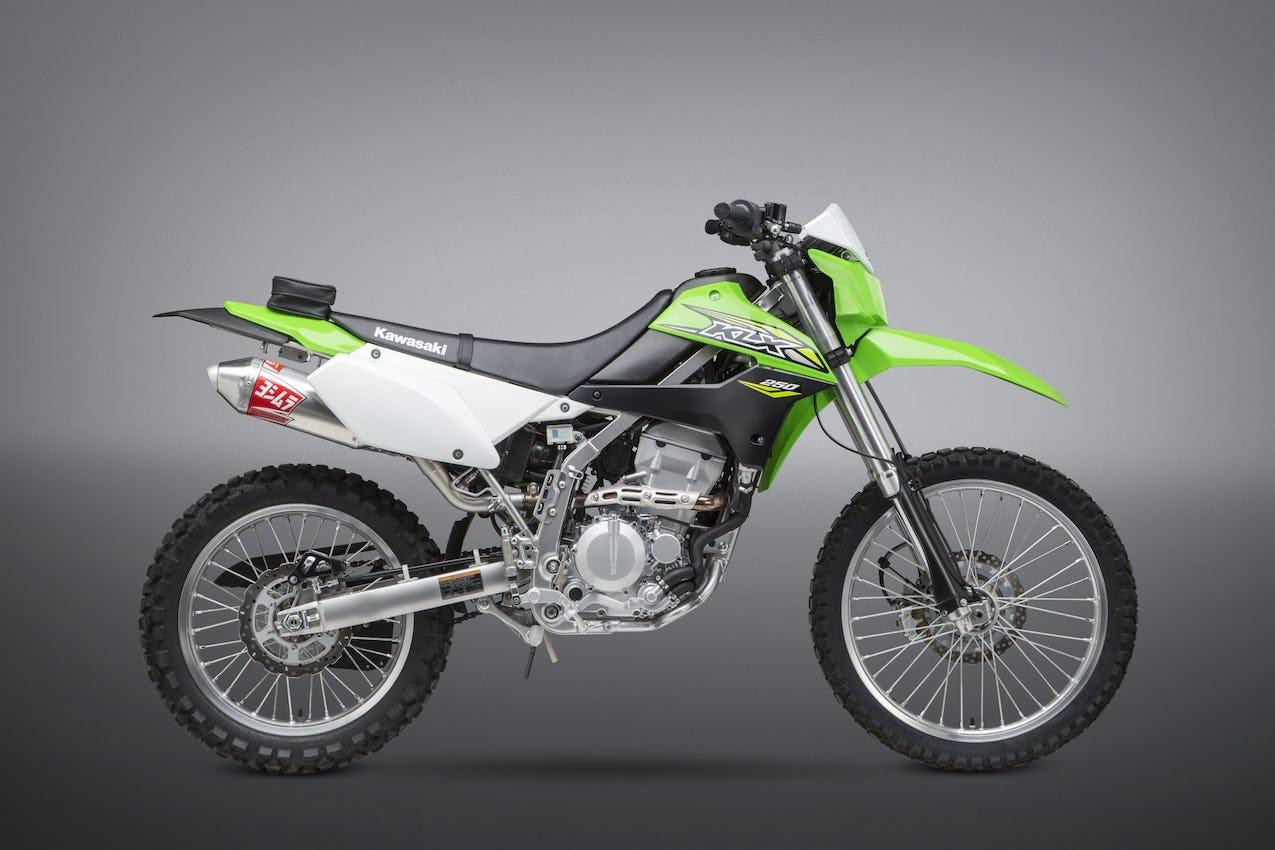 Yoshimura Releases 2018 KLX250 RS-2 Slip-On - Racer X Online