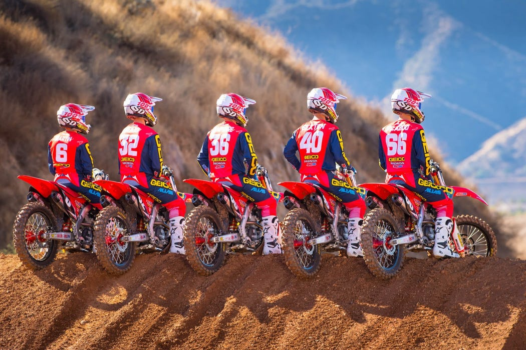 Gallery: GEICO Honda 2018 Team - Racer X Online