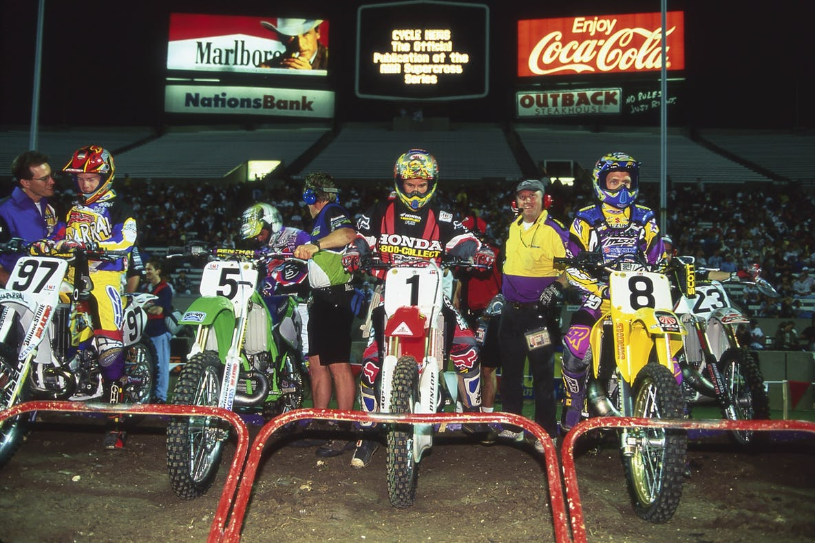 Old Supercross and Motocross Commercials - Racer X Online