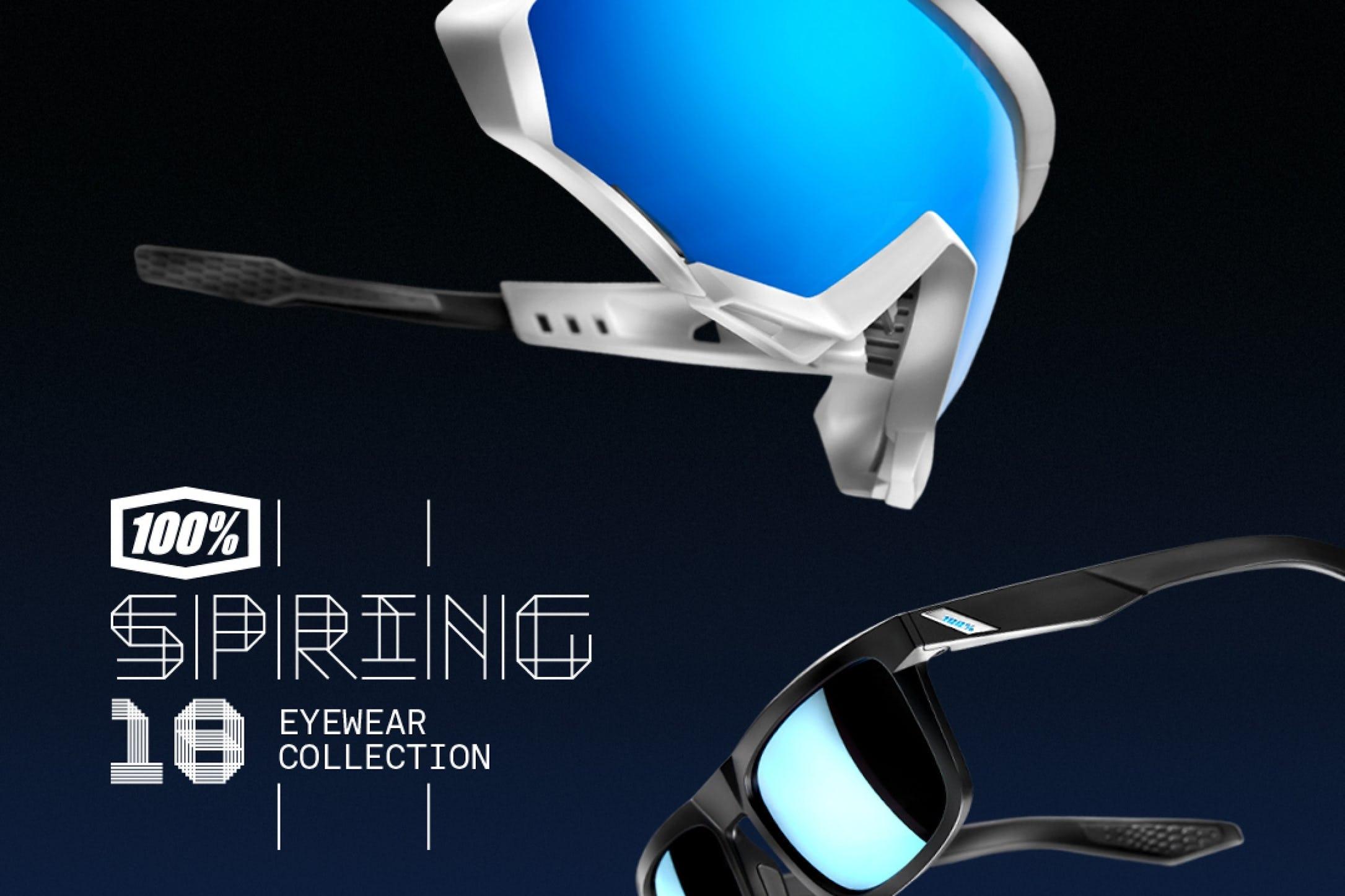 c41479c67c 100% Introduces Spring Eyewear Collection - Racer X Online