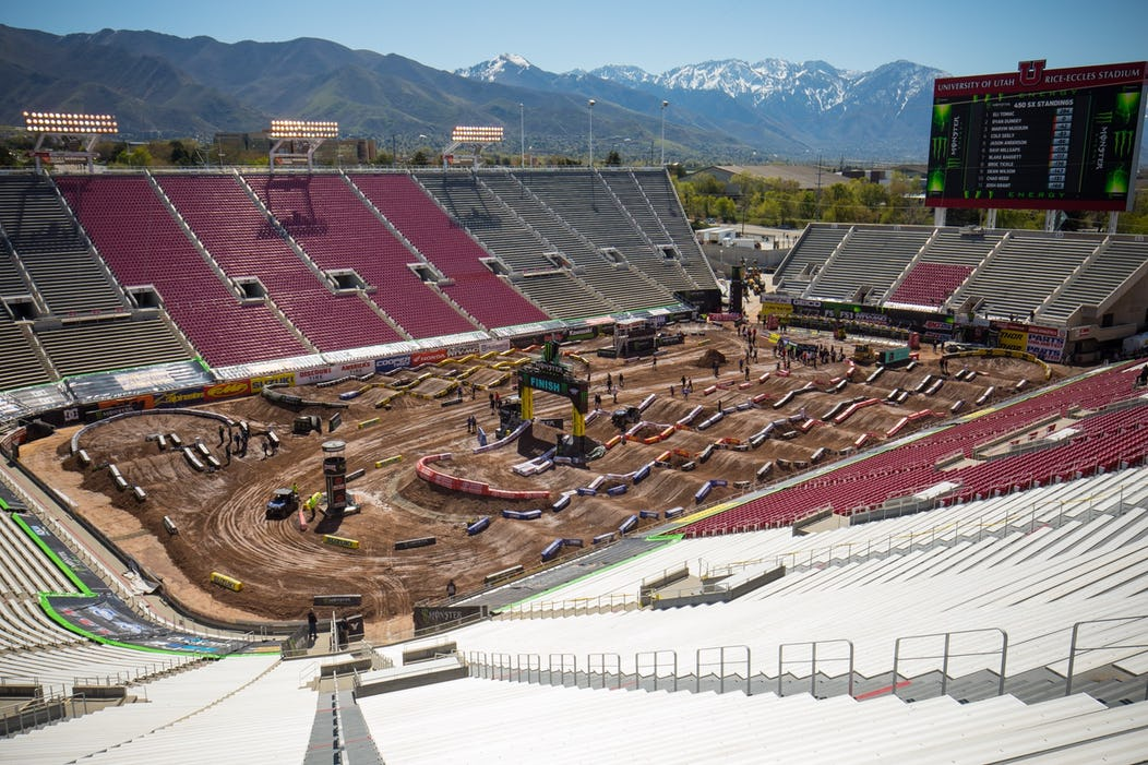 2018 Salt Lake City Is A Day Race Event Schedule Supercross