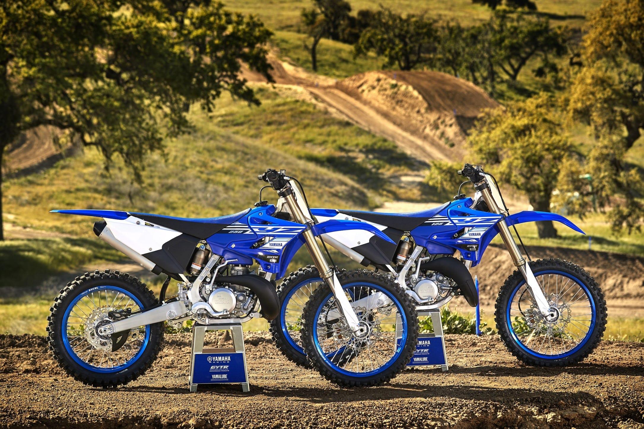 Yamaha Unveils Two-Stroke Motocross Models for 2019 - Racer