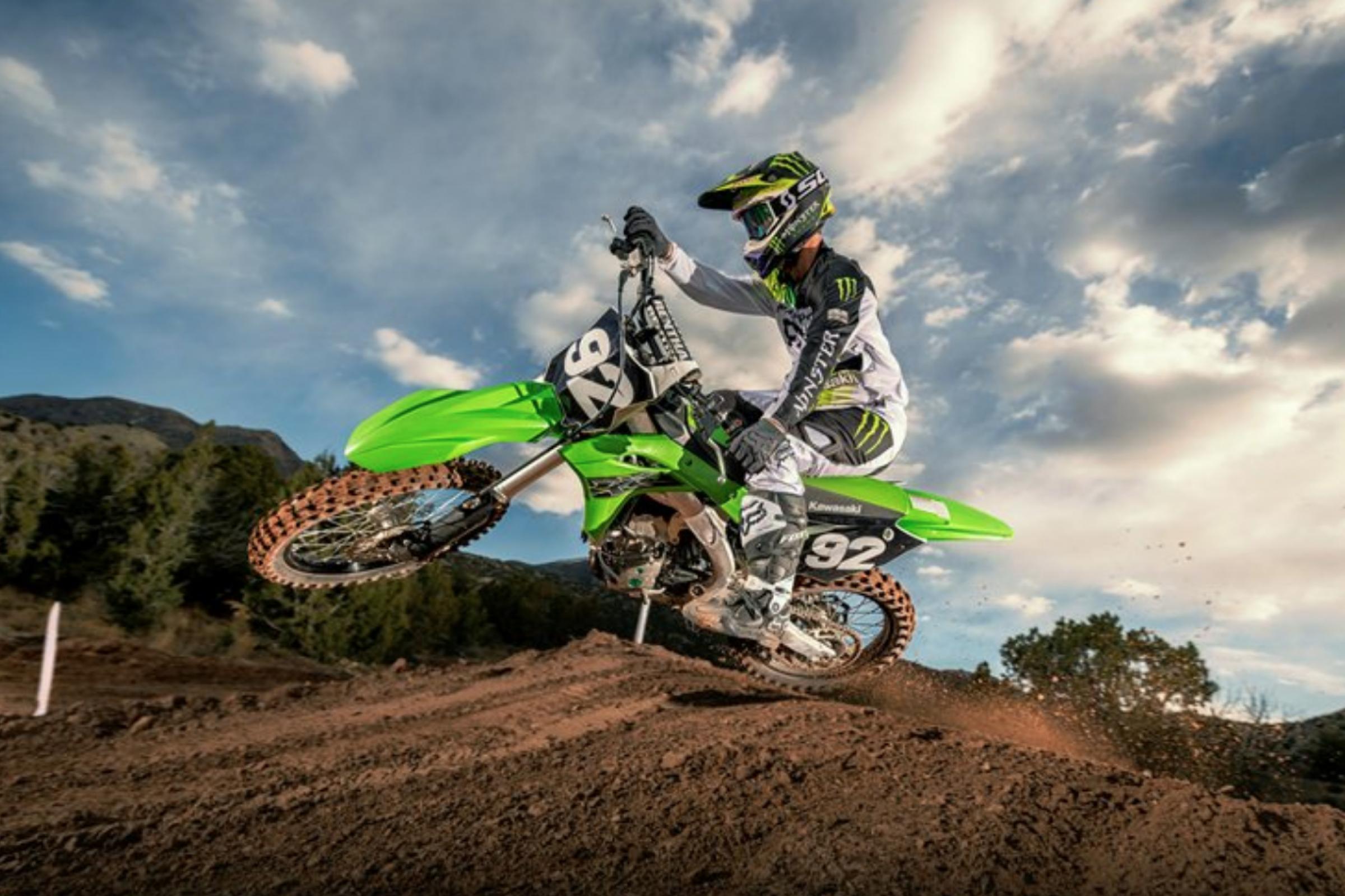 Kawasaki Debuts 2019 Motocross And Off Road Models Racer