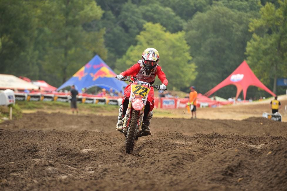 Carson Mumford took the win in the 250 B Limited class.