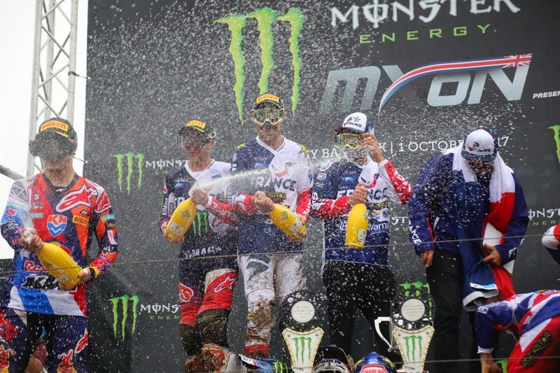 Team France Announces 2018 Motocross of Nations Team