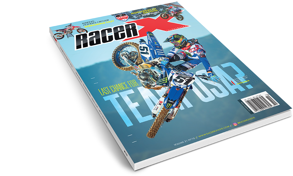 The October 2018 Issue - Racer X Illustrated Motocross Magazine