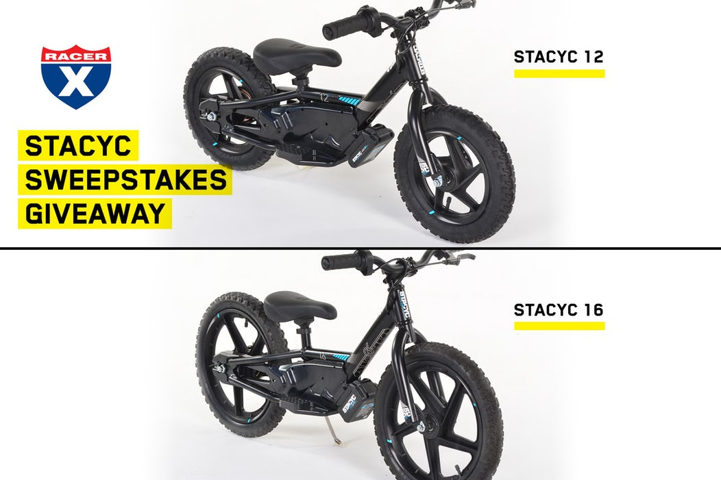 STACYC Sweepstakes Winner Announcement! - Racer X Online