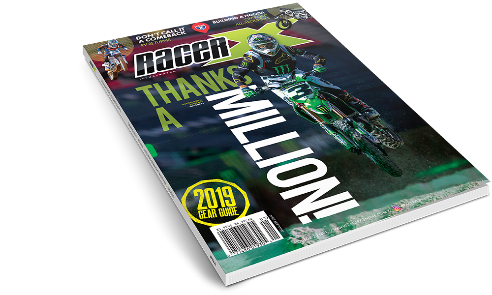 The January 2019 Issue - Racer X Illustrated Motocross Magazine