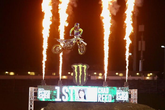 Chad Reed Sweeps S-X Open in Auckland