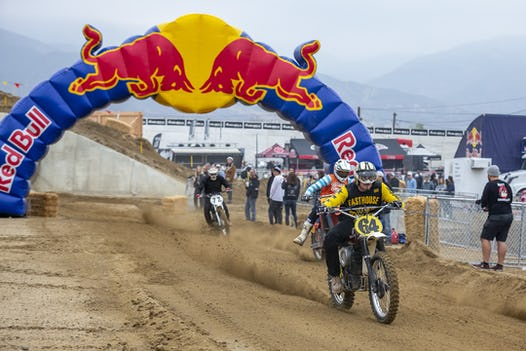 Garth Milan Event Partints Compete At Red Bull Day In The Dirt Glen Helen Raceway San