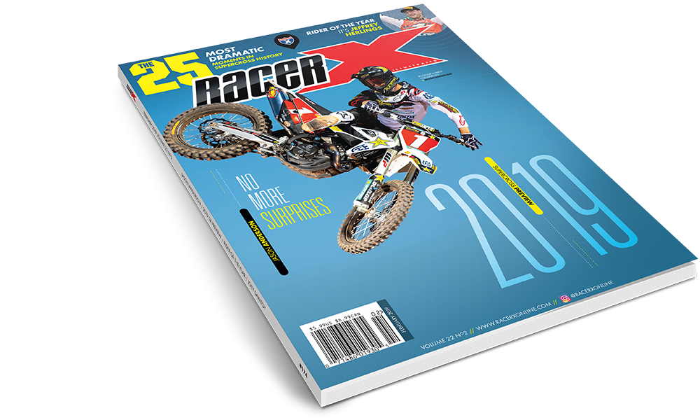 The February 2019 Issue - Racer X Illustrated Supercross Magazine