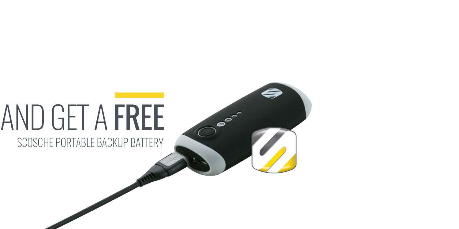 Subscribe to Racer X Illustrated and get a Free Scosche Portable Backup Battery