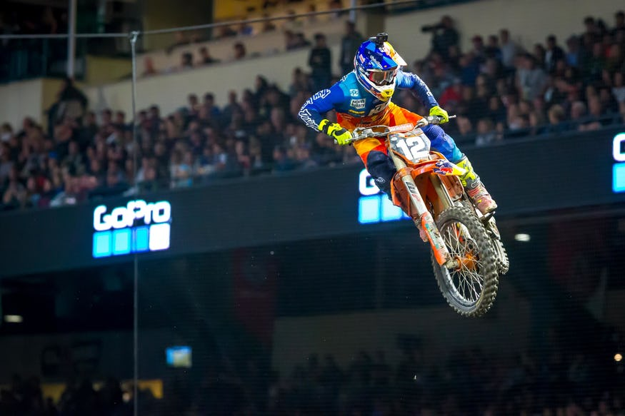 McElrath was solid but simply not as fast as some other contenders early in the season. In the third and final main at Anaheim, he came to life, won it, and that was enough for the overall.