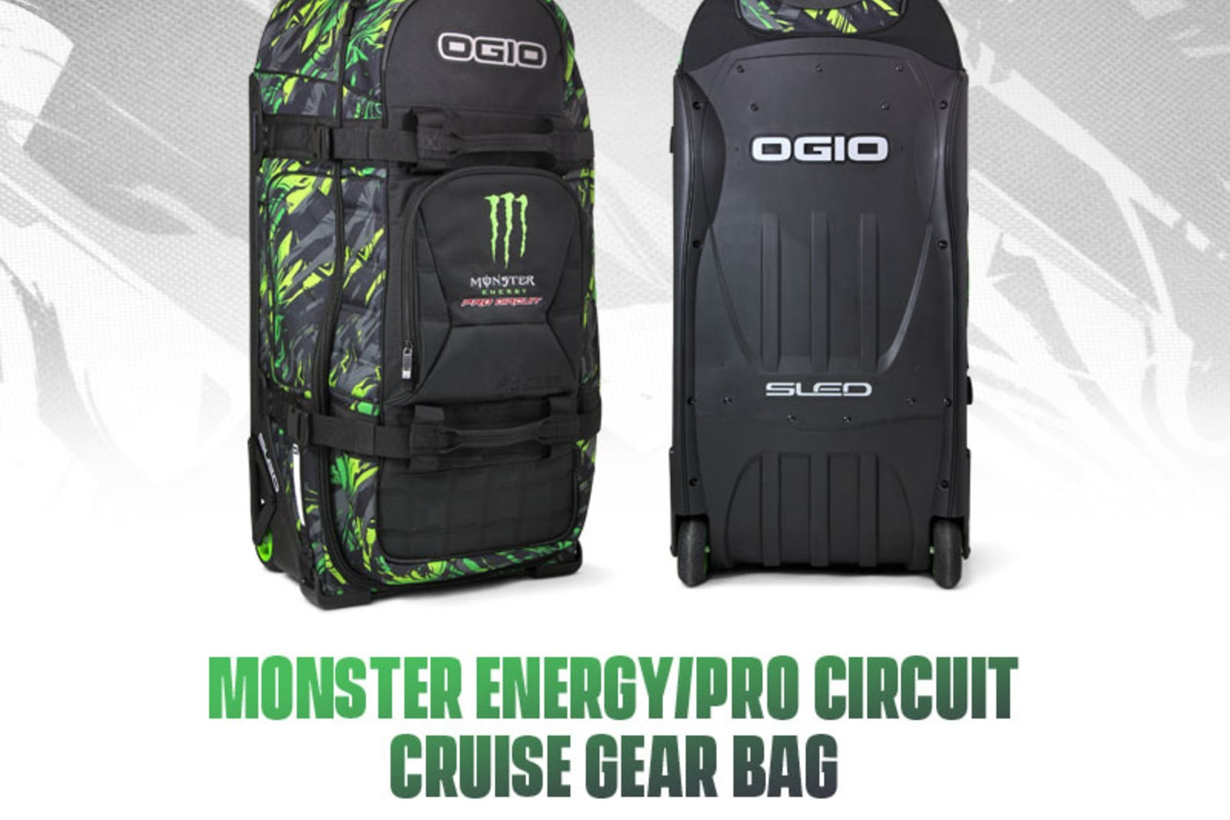 Monster Energy/Pro Circuit Cruise Gear Bag Now Available - Racer X