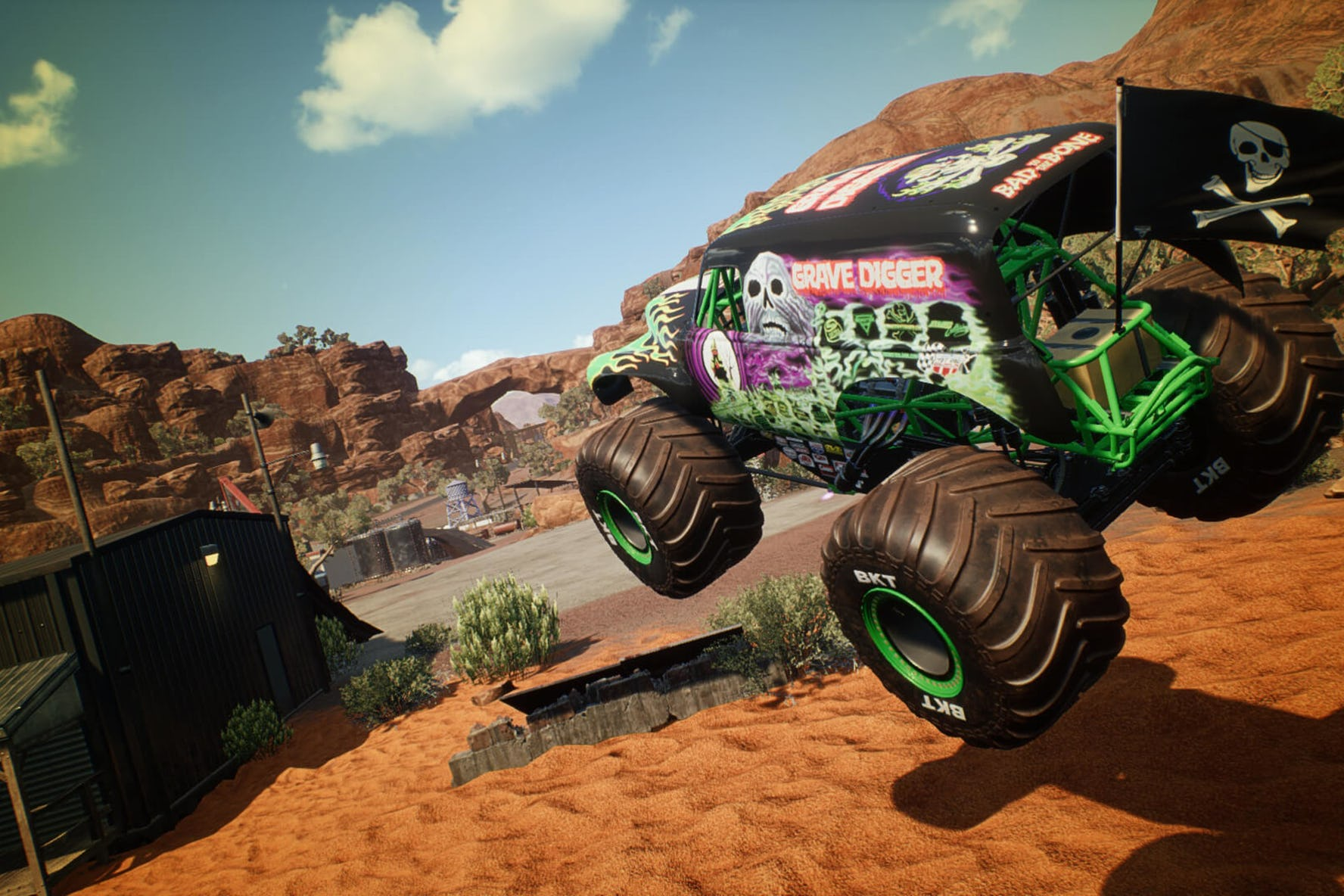 Monster Jam Steel Titans: Will You be the First to Flip