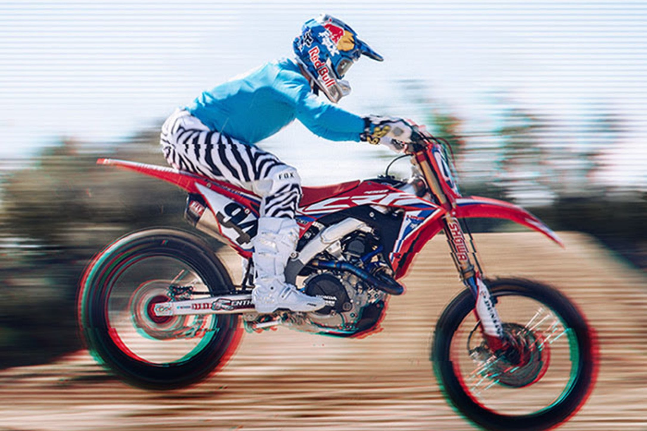a020d243f Fox Releases Zebra Throwback Racewear and Apparel - Racer X Online