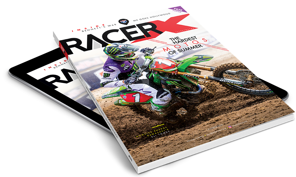 Try Racer X Print & Digital for 3 Issues for only 99 cents