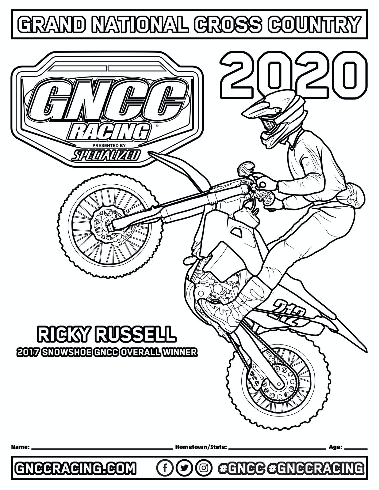 ColoringBuddyMike: Dirt Bike Coloring Pages - YouTube | 1600x1236