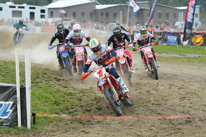 The Mountaineer GNCC Motorcycle Report