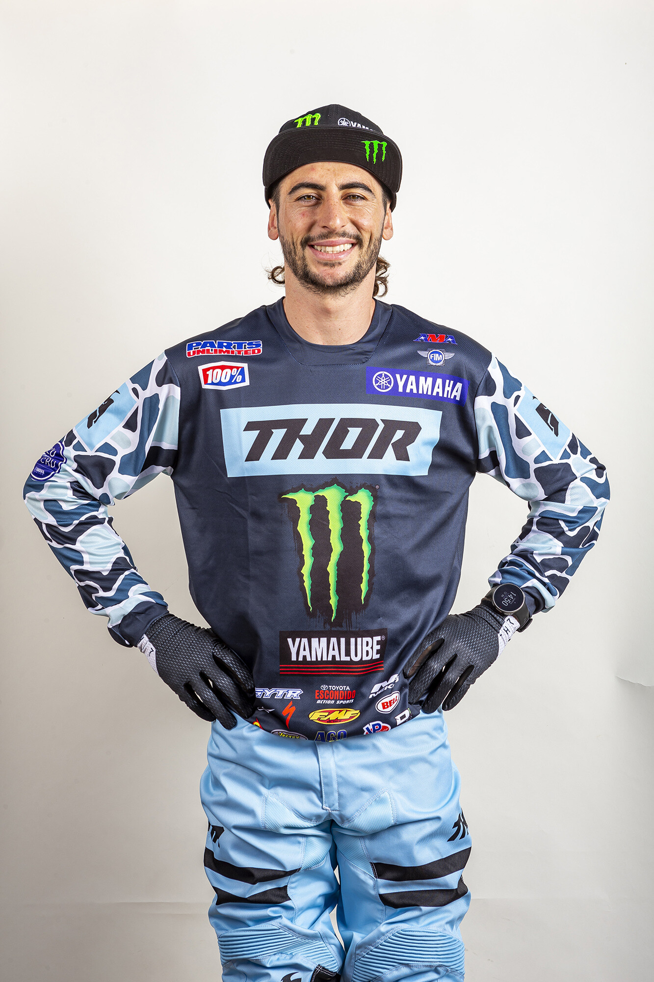 Dylan Ferrandis stays with his team as he moves up to the 450 Class.Yamaha Motor Corp